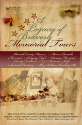 Event schedule for van tour, Legacy of Bravery Memorial Tours, Klamath Falls, OR. (2007 – 2009)